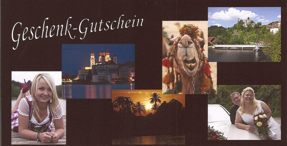 Geschenkgutschein für Deine Fotos bei zema-foto.de in Passau